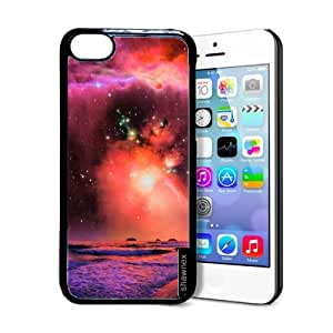 Shawnex Beach Galaxy iPhone 5C Case - Thin Shell Plastic Protective Case iPhone 5C Case