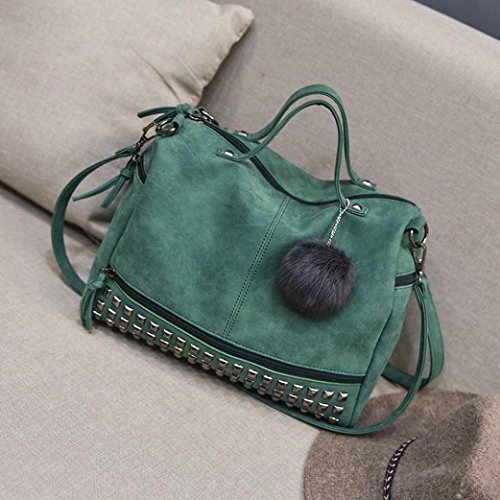 Sunyastor Girls Travel Women Casual Large Handbag Bag Shoppingbags Green Travel Bags Handbag Bag Women for Shoulder S6aqSw