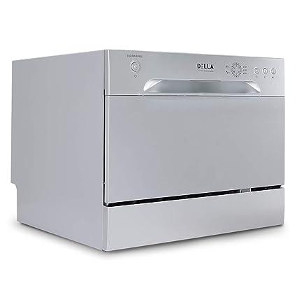 Amazon.com: DELLA Compact Dishwasher Countertop Small Kitchen ...