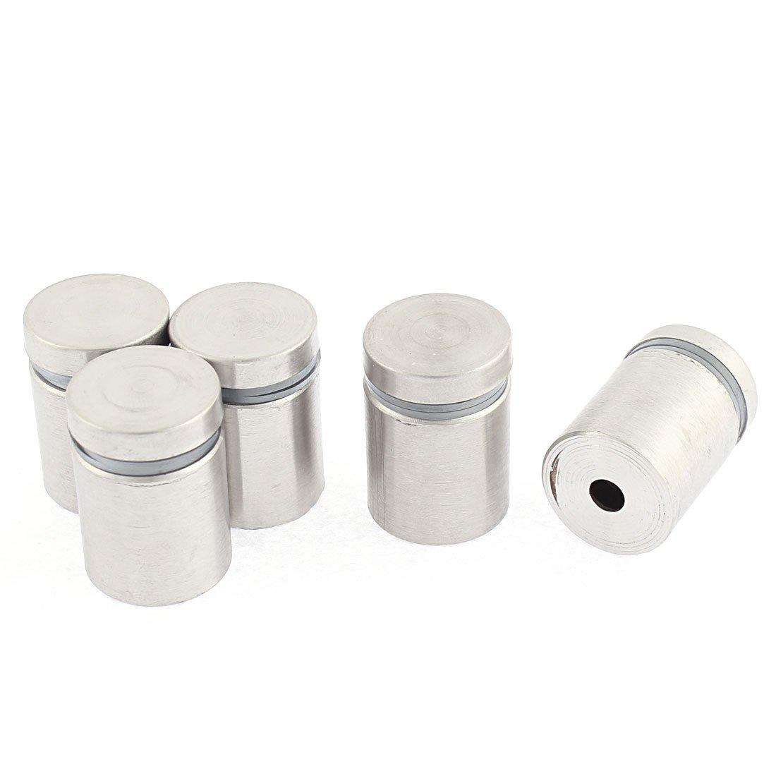 5 Stü ck M10 x 18mm Edelstahl Abstandshalter Glashalter Spiegelhalter Sourcingmap US-SA-AJD-181924