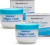 New Zealand Natural Beauteous Collagen Cream with Hyaluronic Acid, Colostrum and Vitamin E (2 creams) Review