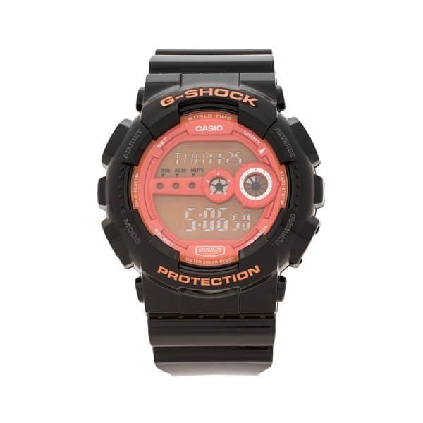 Casio GD-100HC-1E - Reloj Digital de Cuarzo para Hombre, Correa de Resina Color Negro 2
