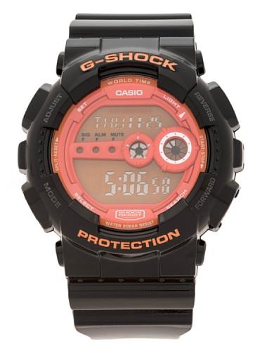 Casio GD-100HC-1E - Reloj Digital de Cuarzo para Hombre, Correa de Resina Color Negro 1