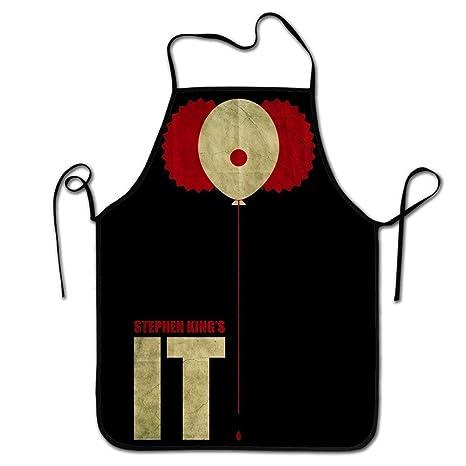 Hustor Delantal de Cocina diseño Vintage Stephen King it ...