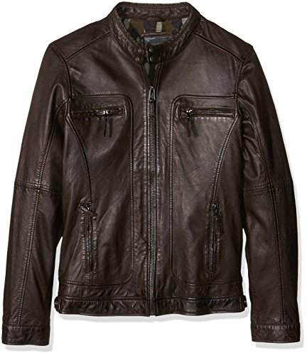 Oakwood para Oakwood Hombre Impermeable Marrón Impermeable vwvZYqa
