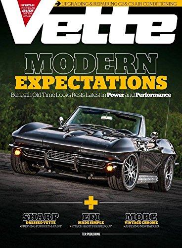 Vette (Car Magazine Corvette Vette)