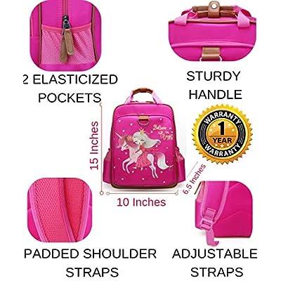 Backpack Unicorn for Girls 15