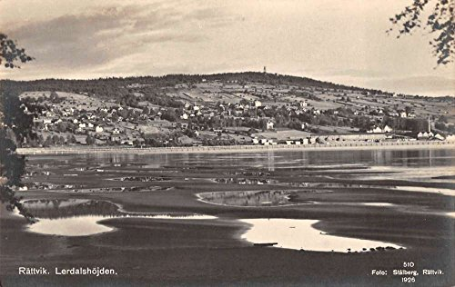 Rattvik Sweden Lerdalshojden Real Photo Antique Postcard J38862 (Sweden Real Photo)