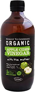 Honest to Goodness Organic Apple Cider Vinegar, 500 ml