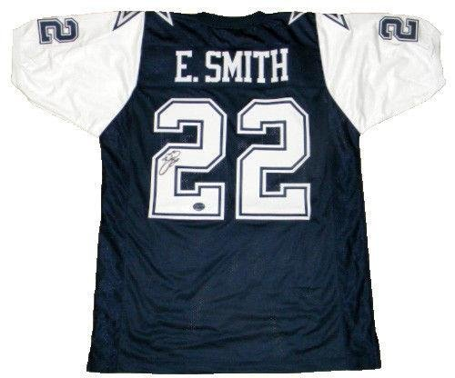Emmitt Smith Autographed Jersey - #22 Thanksgiving Day - JSA Certified - Autographed NFL Jerseys - Jersey 22 Emmitt Smith
