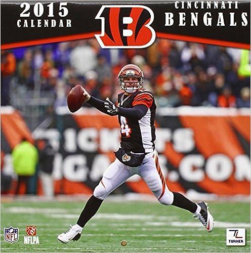 Laden Sie Bücher kostenlos herunter Cincinnati Bengals 2015 Calendar CHM 146932119X