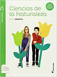 CIENCIAS NATURALES 6 PRIMARIA MEC SANTILLANA