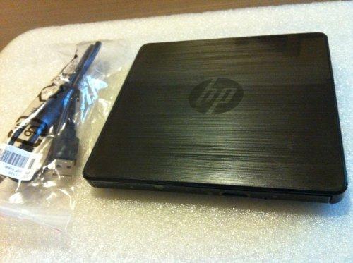 A2U57UT#ABA - HP External DVD-Writer - DVD-RAM/�R/�RW Support - 8x Read/ - Dual-Layer Media Supported - USB 2.0