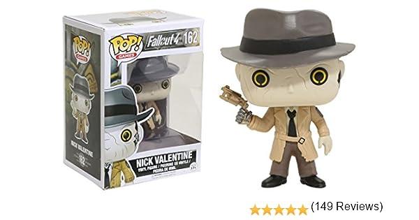 Funko - Nick Valentine figura de vinilo, colección de POP, seria Fallout 4 (12290): Amazon.es: Juguetes y juegos