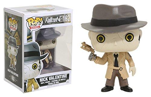 Funko - Nick Valentine figura de vinilo, coleccion de POP, seria Fallout 4 (12290)