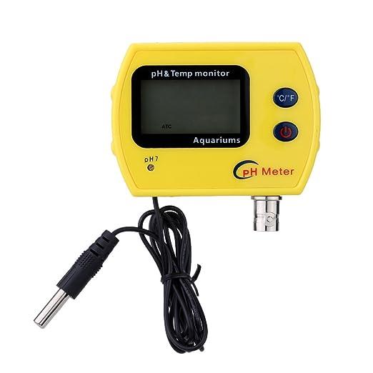 25 opinioni per KKmoon Misuratore di pH professionale ad alta precisione Portable Online per pH