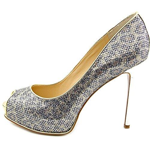 Guess - Zapatos de vestir para mujer Natural Multi Fabric