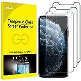 """JETech Protector de Pantalla Compatible iPhone 11 Pro, iPhone XS y iPhone X 5,8"""", Vidrio Templado, 3 Unidades"""