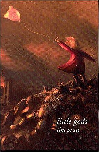 Image result for little gods tim pratt book cover