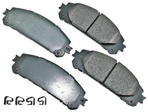 Akebono ACT1324 ProACT Ultra-Premium Ceramic Brake Pad Set