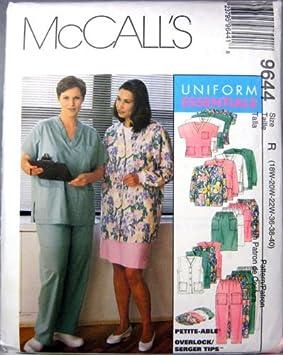 patron couture uniforme infirmiere