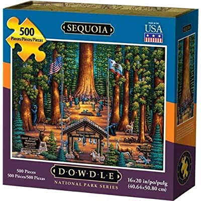 Dowdle Jigsaw Puzzle - Sequoia National Park - 500 Piece: Toys & Games