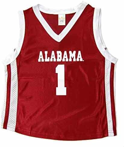 Little King NCAA Alabama Crimson Tide Infant Toddler Basketball Jersey 07dfea139
