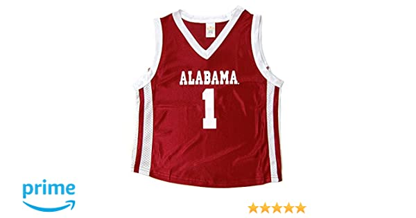 1824fc5f4 Amazon.com  Little King NCAA Alabama Crimson Tide Infant Toddler Basketball  Jersey  Clothing