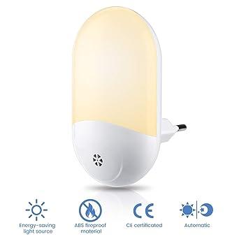 5X LED Nachtlicht mit Bewegungsmelder Nachtlichter Nachtlampe Licht Nachtleuchte
