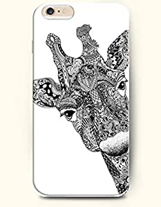 OOFIT Apple iPhone 6 Case 4.7 Inches - Fashion Giraffe