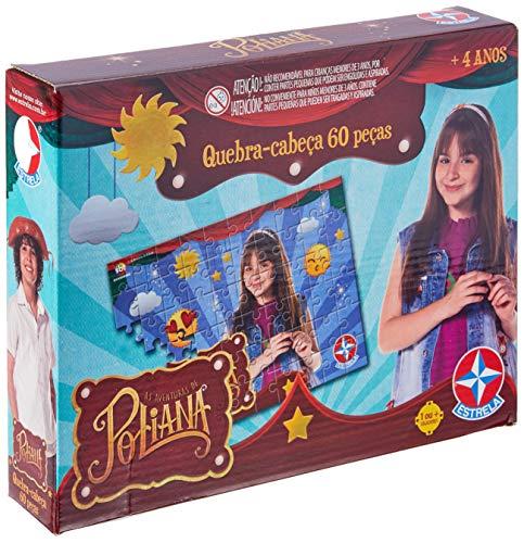 Quebra-Cabeça As Aventuras de Poliana, Brinquedos Estrela, Multicor, 60 Peças