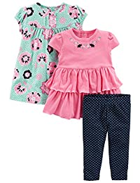 Simple Joys by Carter's Girls' 3-Piece Playwear Set