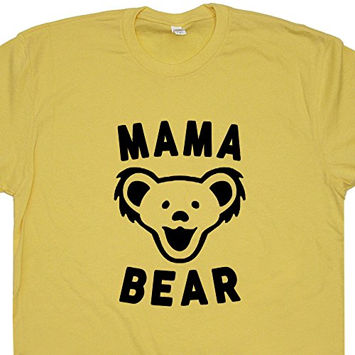 Medium - Mama Bear T Shirt Best Mom Ever Tee Shirts Mothers Day Worlds Okayest New Mom Vintage Shirtmandude