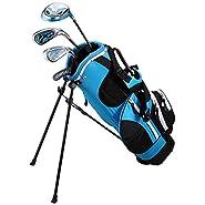 "Golphin Kids 728 Golf Club Set (For Kids 48""-52.5"")"