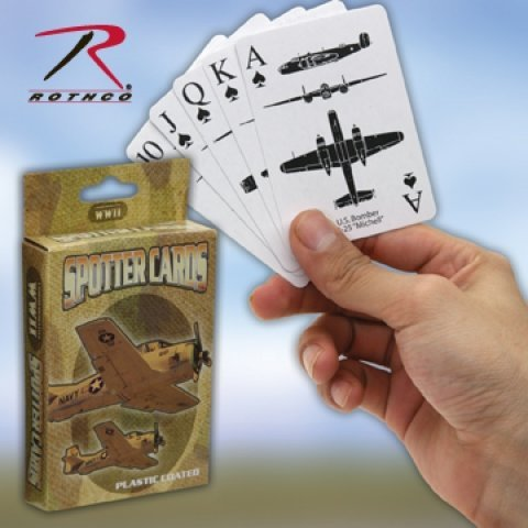 577 WWII SPOTTER PLAYING CARDS ''CE'' ()