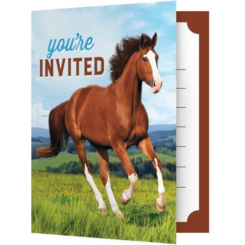 Wild Horse Invitations, 8 ct -