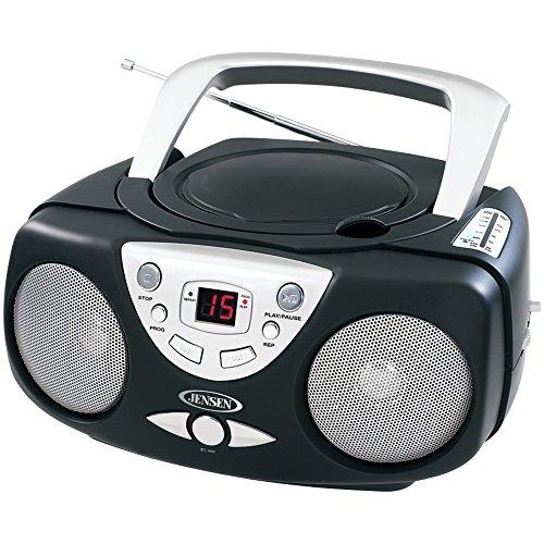 JENSEN CD-472-R Refurbished AM/FM CD Boom Box