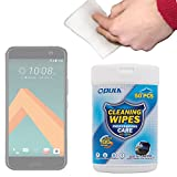 DURAGADGET Anti-Static LCD Cleaning Cloths Suitable for Use with the new HTC 10 Smartphone