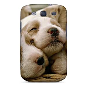 S3 Scratch-proof Protection Case Cover For Galaxy/ Hot Animals Puppies Phone Case