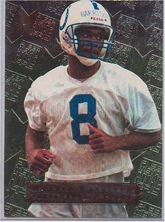 Marvin Harrison 1996 Fleer Metal 135 Rookie Card Colts