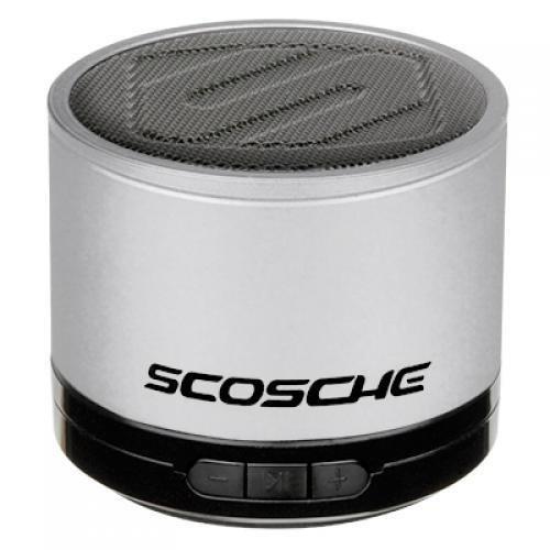 SCOSCHE BTSPK1SR Portable Bluetooth Wireless Media Speaker