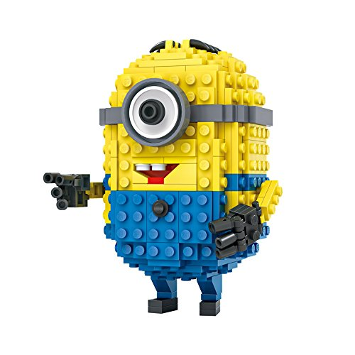 A Cute Mini Figure Character Building Bricks Toy Sets for Kids Teens Construction Toy Building Kits 279-Pieces Compatible with Big Brand Micro Block (Cute 11 Year Old Guys)