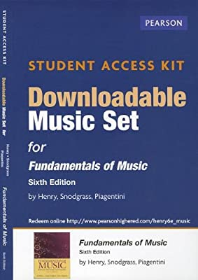 Download Music Access Card for Fundamentals of Music