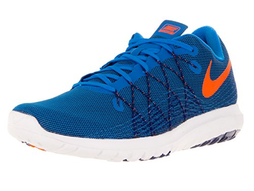 NIKE Herren Flex Fury 2 Laufschuh Foto Blau / Total Orange-tief Royal Blau-Weiß