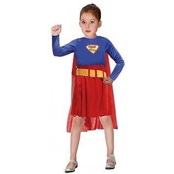 Moin Kostüm Kinder Mädchen Übermensch Kostüm Superman Superhelden ...