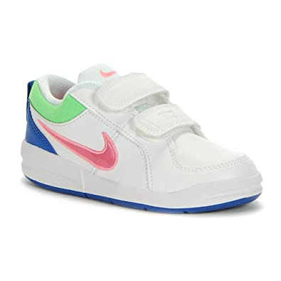 Nike - Nike Pico 4 (PSV) Kinderschuhe Weiss Leder 454477 - Weiss, 35