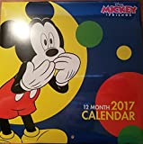 Disney Mickey and Friends 12 Month 2017 Wall Calendar