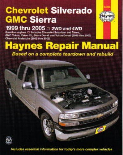 H24066 Chevy Silverado GMC Sierra Pickups 1999-2007 Haynes Repair Manual