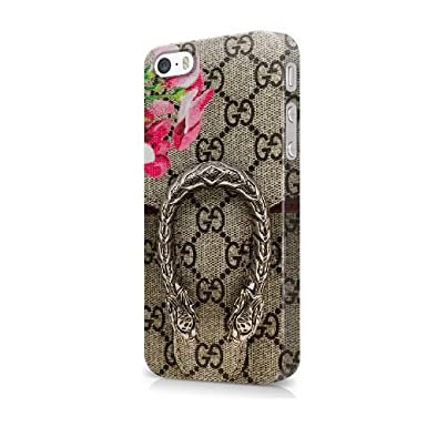 newest 5a653 f22bb iPhone 5/5S/SE Case, Bretfly Nelson® GUCCI LOGO Series Hard Plastic ...
