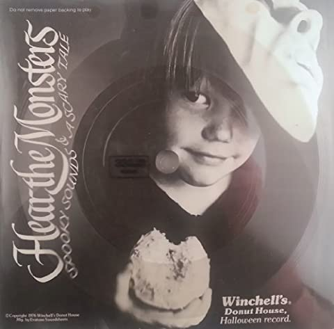 Hear the Monsters - Spooky Sounds & a Scary Tale, a Halloween Record (Scary Monsters Vinyl)
